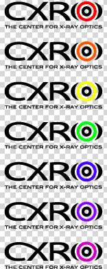 CXRO Logo Black On Clear