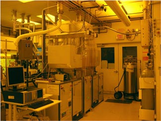Dry Etch facility in the CXRO nanofabrication laboratory