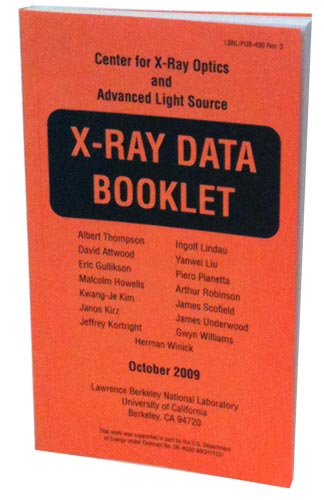 The 2010 CXRO X-Ray Data Booklet